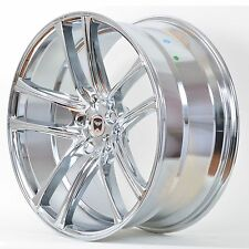 4 GWG Wheels 17 inch Chrome ZERO Rims fits ET40 CHRYSLER TOWN AND COUNTRY 2000