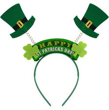 WIGGLY HEADBAND ST PATRICKS DAY IRELAND IRISH FANCY DRESS X09 749