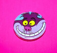 ALICE IN WONDERLAND CHESHIRE CAT DISNEY BUTTON PIN BADGE