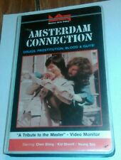 Amsterdam Connection VHS 1999 English Dubbed Clam Shell Chen Shing Kid Sherrif