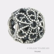 Authentic Pandora Sterling Silver Roses Bead 791282