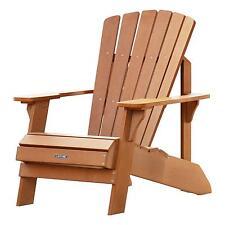Lifetime Adirondack Chair 60064 Simulated Wood Patio Furniture