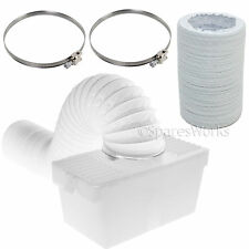 1 Metre Hose Condenser Box with Extra Long Pipe & Clips for INDESIT Tumble Dryer
