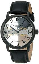 Stuhrling 680 01 Legacy Stainless Steel Mechanical Hand-Wind Leather Mens Watch