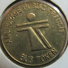 1976 Anchorage Public Transit Bus Token - Anchorage, AK Alaska