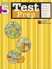 Test Prep: Grade 5 (Flash Kids Harcourt Family Learning), , Good Book