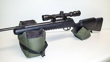 Large Shooting Bag Set Rifle Gun Rest Range Gear Front & Rear Bags