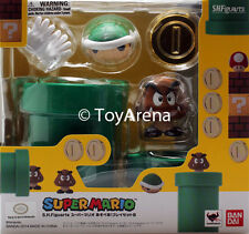 S.H. Figuarts Mario Diorama Playset B Super Mario Bros Bandai IN STOCK US Seller
