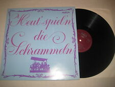 Heut spiel'n die Schrammeln   Vinyl  LP Amiga Kat. Nr. hinten