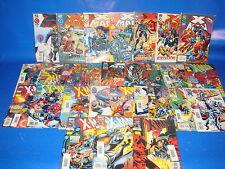 Lote de comics X-MAN-embolsados y protegidos-28 numeros