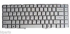 White NEW Sony Vaio VGN-NW Series 148738321 9J.N0U82.B01 NSK-S8B01 Keyboard US