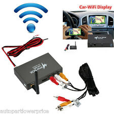Car Wifi Mirror Box GPS Navigate Android iOS Airplay Miracast DLNA AUX Interface