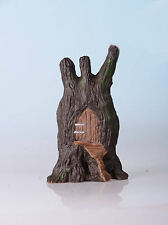 FAIRY DOOR TREE HOUSE WITH WONDERFUL DETAILING - LET YOUR SECRET FRIENDS IN