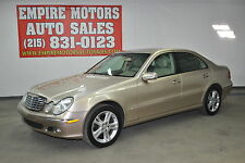 Mercedes-Benz : E-Class 4Matic Sedan 4-Door