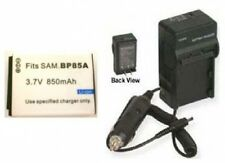 Battery + Charger for Samsung WB210 EC-WB210ZBPBUS