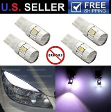 Mercedes Benz C300 C350 C63 AMG LED 6-SMD 5630 Eyebrow Eyelid Lights Bulbs 4Pcs