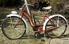 "Vintage 1952 SCHWINN PANTHER 26"" Cruiser Bike. AS Springer, Rocket Ray. Nice!"