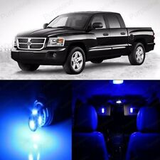 14 x Super Blue LED Interior Light Package Kit For Dodge Dakota 1997 - 2013