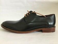 Men's Black Ted Baker Leather Oxford Dress Shoes Size 8 M New