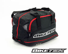 MOTORCYCLE HELMET BAG HOLDALL CARRIER FLEECED LINED LID BAG CRASH HELMET STORAGE