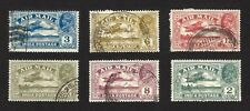 India 1929 Air Mail issue 6v fine used