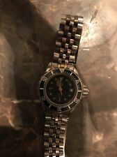 Tag Heuer 980.018 Black Gold 2 Tone 1000 Watch Professional Womens