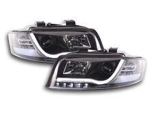 Scheinwerfer Daylight Set mit Tagfahrlicht Audi A4 Typ 8E Bj. 01-04 schwarz Sche