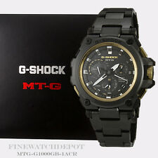 Authentic Casio G-Shock Men's Satellite Anaglog MTG Series Watch MTG-G1000GB-1A