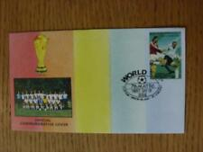 07/05/1986 World Cup Postal Cover: CC 1371 - Germany Team - Stamp: Germany Playe