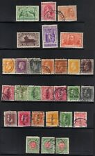 NEW ZEALAND 1915-20 COLLECTION OF 29 USED 3 ARE MINT INCLUDING S.G. 453-8