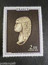 FRANCE  1976, timbre 1868, TABLEAU, ART, VENUS BRASSEMPOUY, neuf**, PAINTING MNH