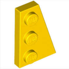 LEGO  Right Plate 2x3 W/angle(43722)_ Bright Yellow  _4179094(Lot of 1)