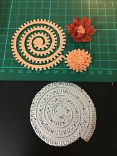 "2.75"" Flower Stamen Cutting Die for Sizzix Spellbinders Etc. Machine"