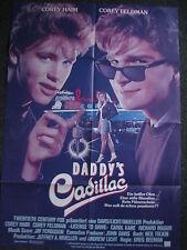 Filmplakat-Kinoplakat-Daddy´s Cadillac-Corey Haim-Corey Feldman-Germany