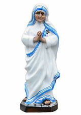 Saint Mother Teresa of Calcutta resin statue cm. 40