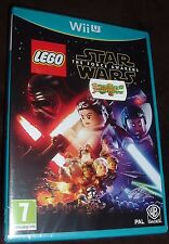LEGO Star Wars The Force Awakens Nintendo WiiU NEW SEALED