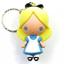 "Disney 3D Figural Keyring Series 3 ALICE IN WONDERLAND 3"" KEYCHAIN Blind Bag"