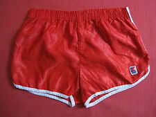 Short K Way vintage Rouge Made in France Polyamide 80'S BE - S