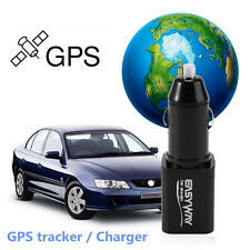 Mini Portable Car Charger GPS Tracker Locator GSM GPRS Real Time Tracking Device