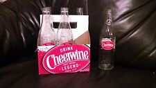 Cheerwine Soda Bottles 6 Pack Carrier pepsi coke 7 up Wedding Decorations?