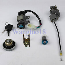 Ignition Switch Key Set For 139QMB 50cc Chinese Scooter Parts Locking Gas Cap