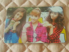 (ver. Group TYPE A) SNSD 2nd Album Oh! Photocard K-POP Seohyun Taeyeon Yuri