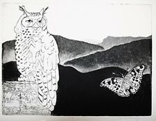 "DEBBIE SLOWEY ""NIGHT WATCH (OWL)"" 