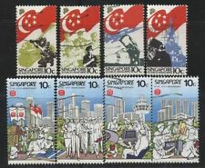 [JSC] Singapore Commemorative stamp 2 sets