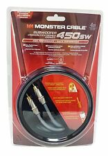 Monster Cable 450SW Subwoofer Audio Cable - 13 Ft - High Performance Bass