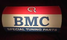 BMC,mini,austin,morris,garage,workshop,mancave,light up,sign,vintage,display