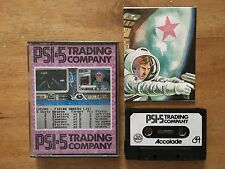 COMMODORE 64 (C64) - PSI-5 TRADING COMPANY - GAME