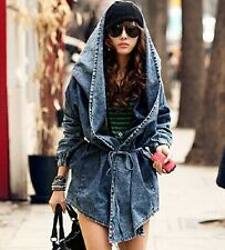 Jeans Mantel Denim Trench Coat Cardigan Jeansjacke  Parka Gr. 36 - 40 oversized