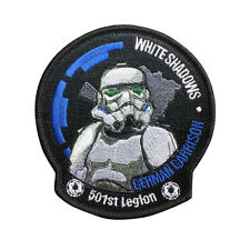 Star Wars 501st Legion Imperial Stormtrooper Patch Embroidered Movie Iron On