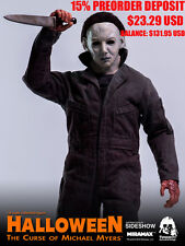 PREORDER 1/6 Michael Myers Halloween Figure Curse Threezero Knife Toys Hot